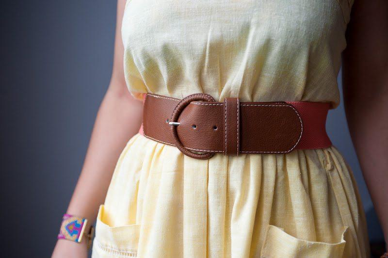Ma petite robe jaune: Combo rétro-vintage