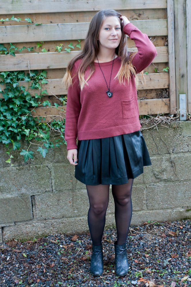 Leather + Burgundy + Concours