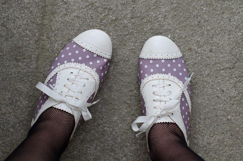 chaussures lavande asos