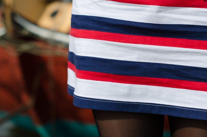 robe bleu blanc rouge asos