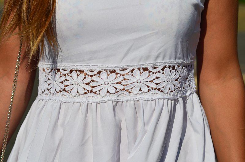robe dentelle femme