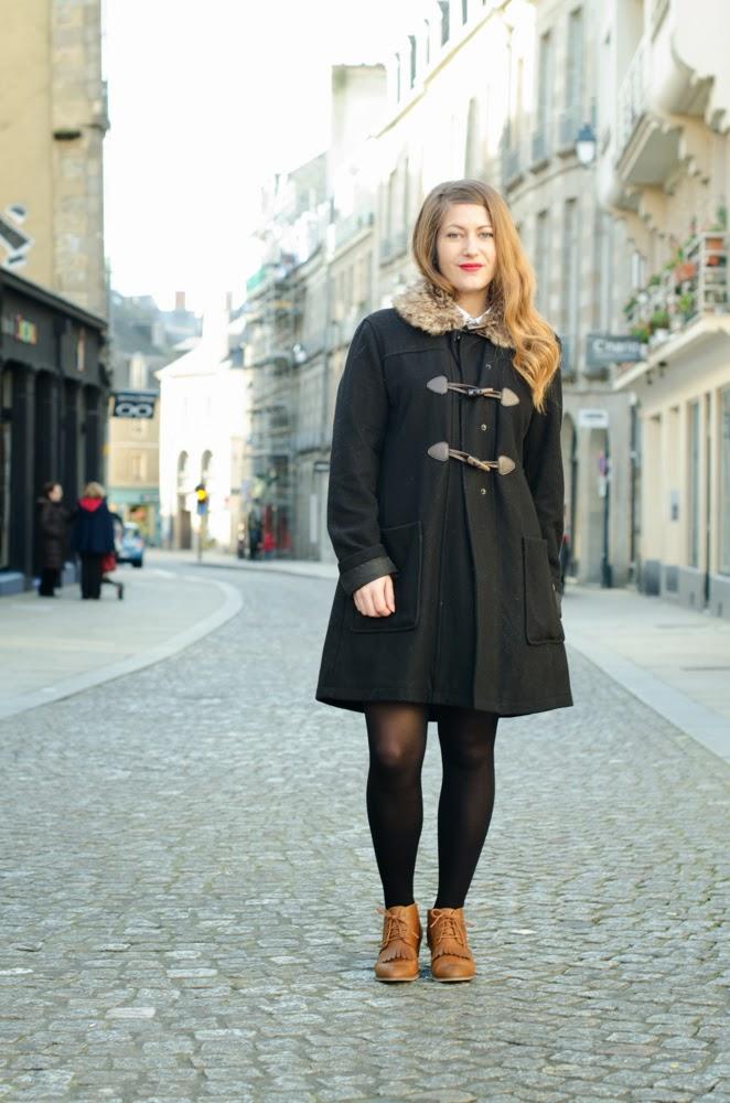 manteau moumoute femme