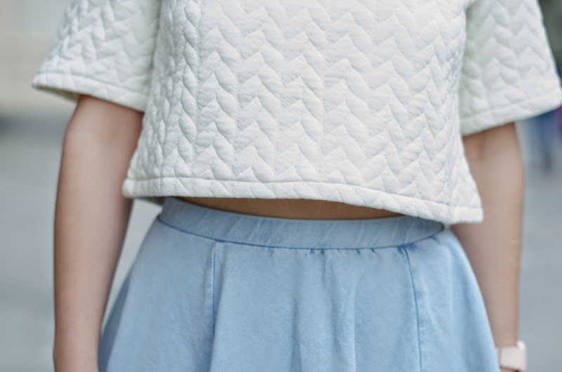cropped top femme