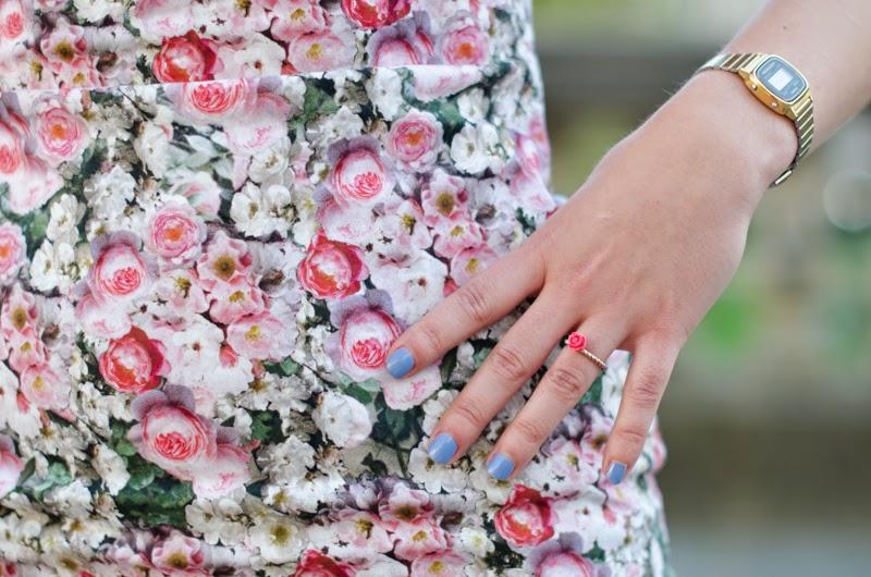 robe fleuris zara