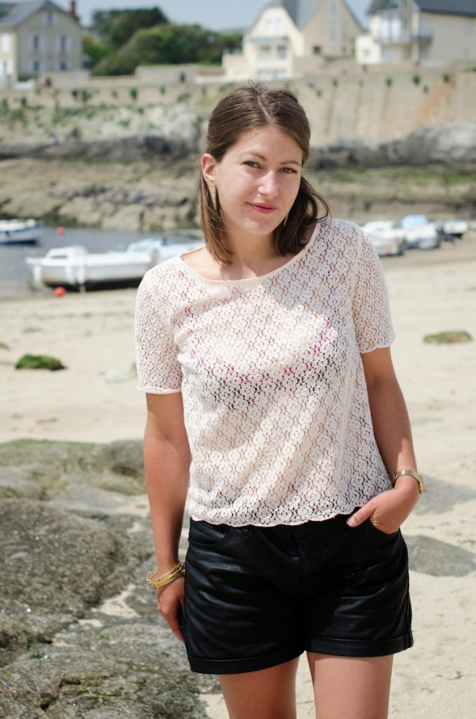 top broderie h&m