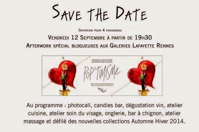 Concours Galeries Lafayette pour les Rennaises