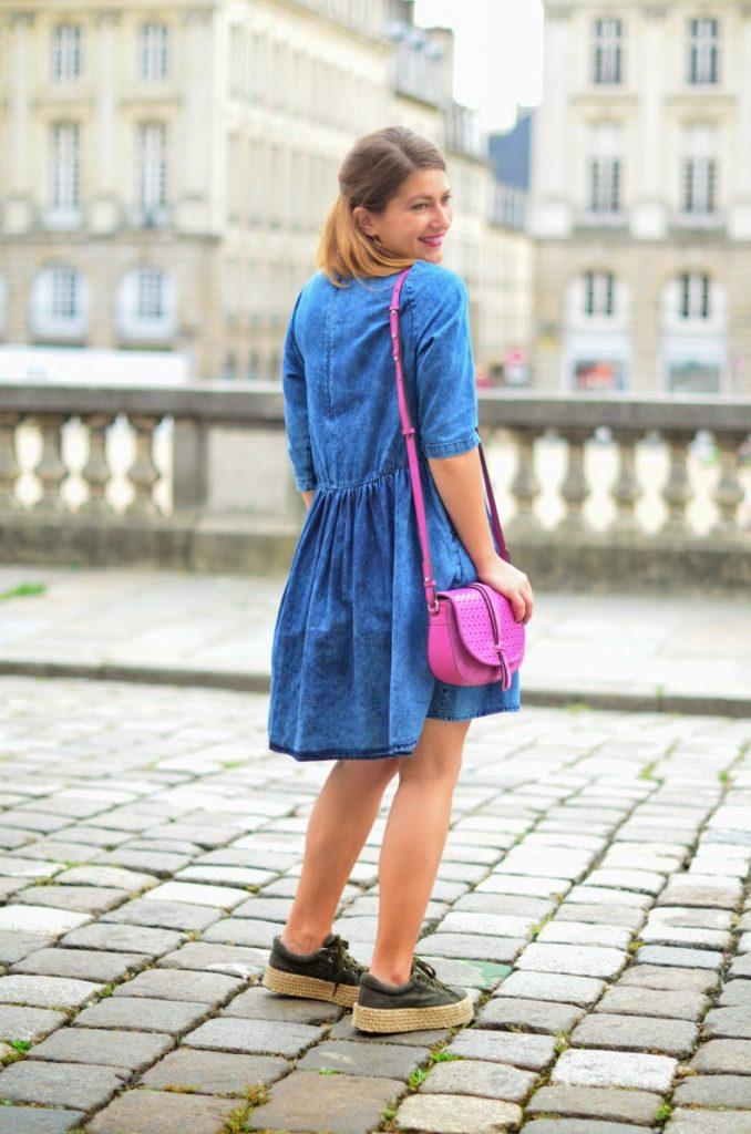 robe en jean asos