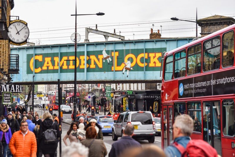 Camden Lock Market, London