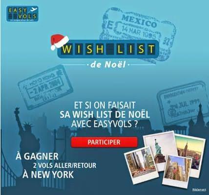 Concours Easyvols: 2 vols aller/retour New York