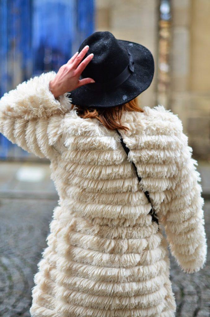 manteau doudou femme