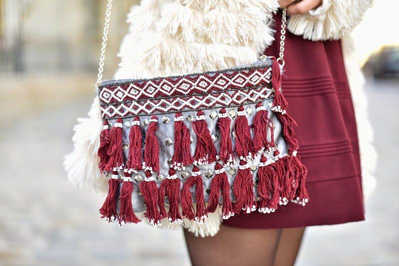 sac parfois robe maje