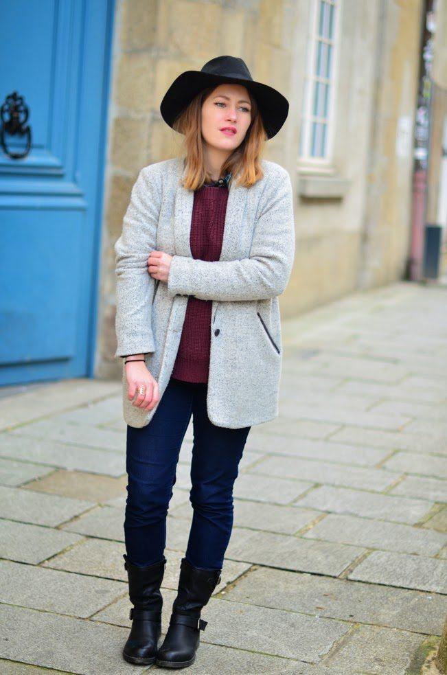 tenue hiver tendance femme