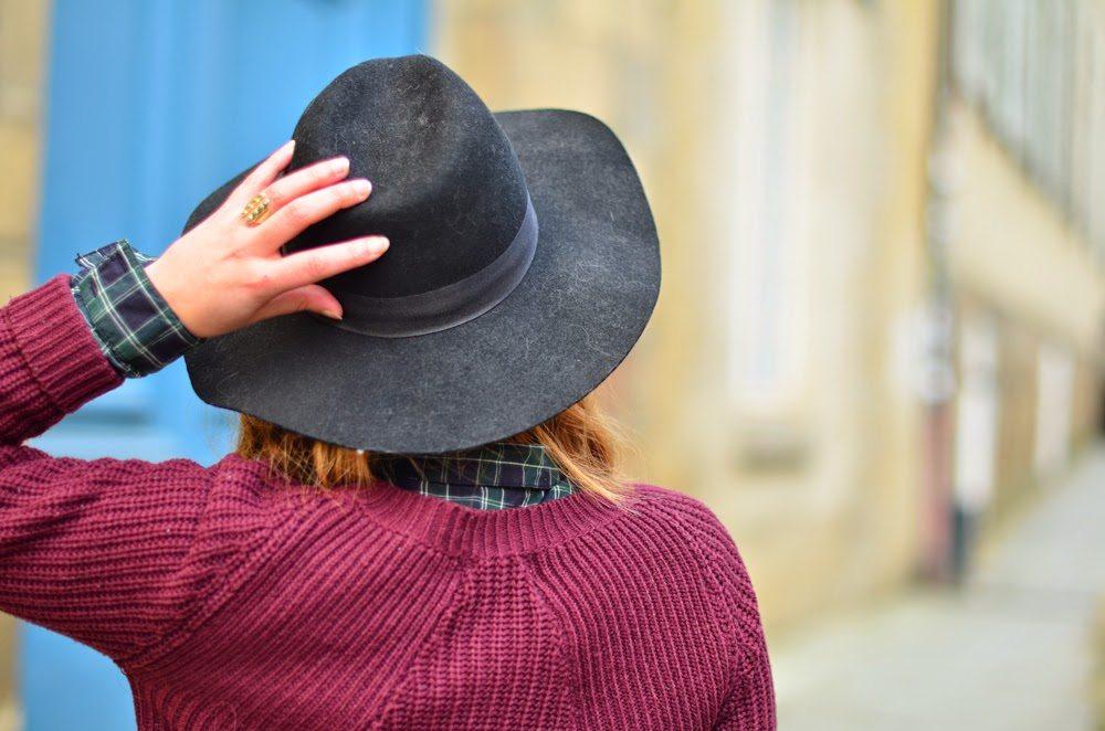 chapeau femme feutre