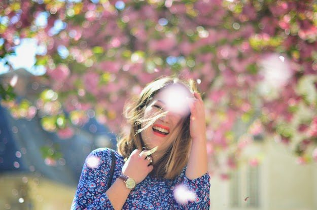 robe fleuris springfield