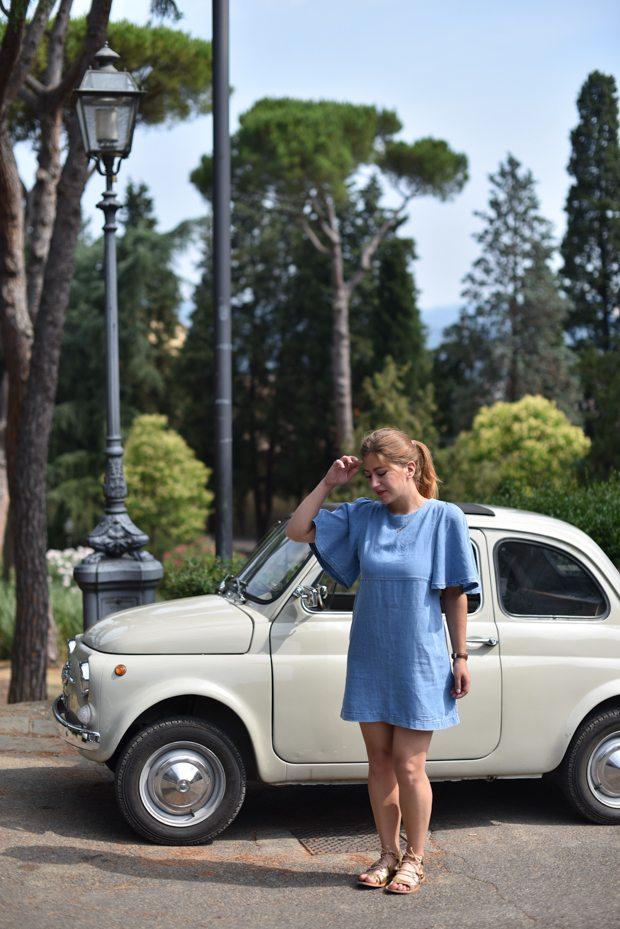 La Toscane en Fiat 500