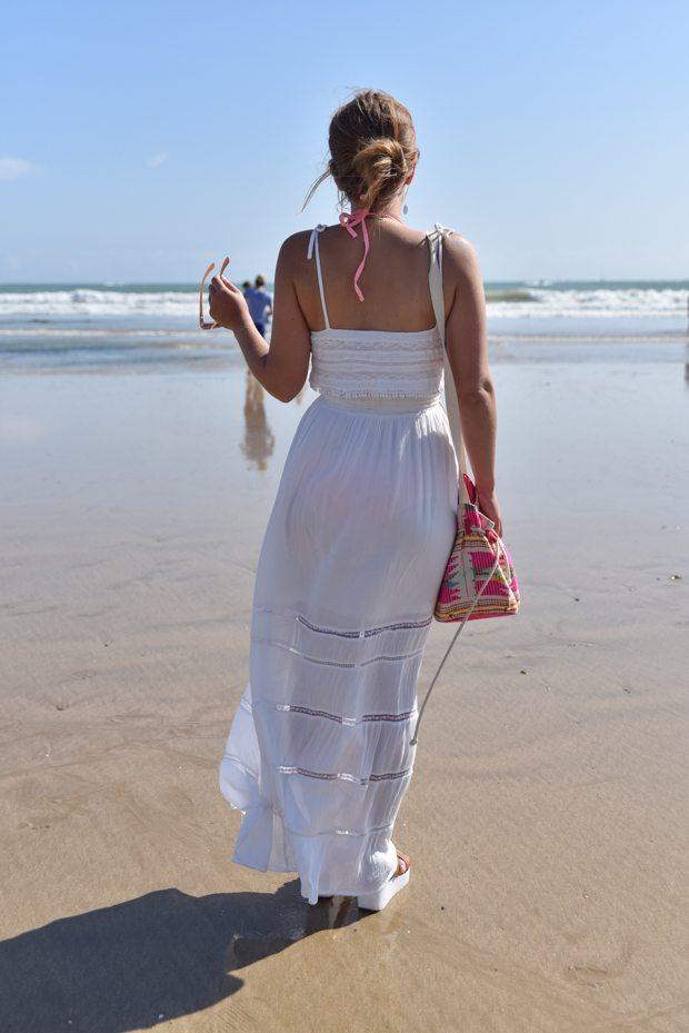 robe longue plage springfield