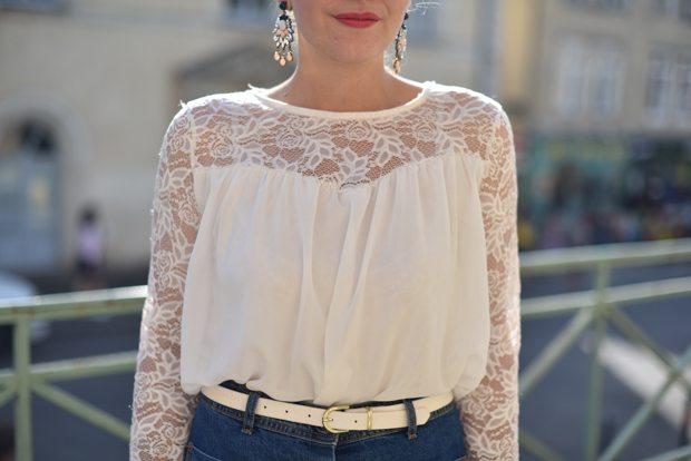 blouse dentelle asos