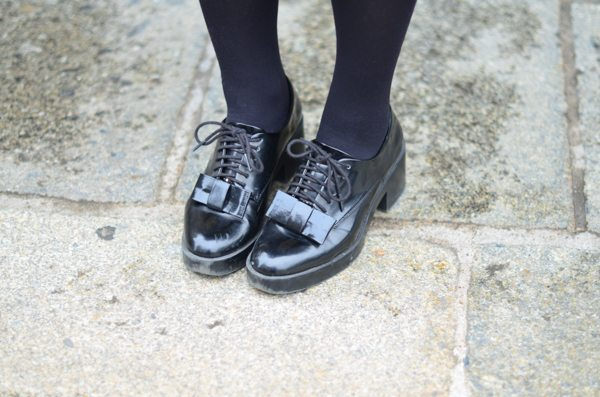 derbies zara noires