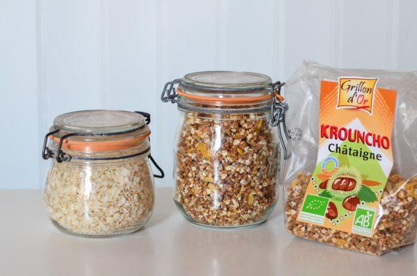 Des barres céréales maison