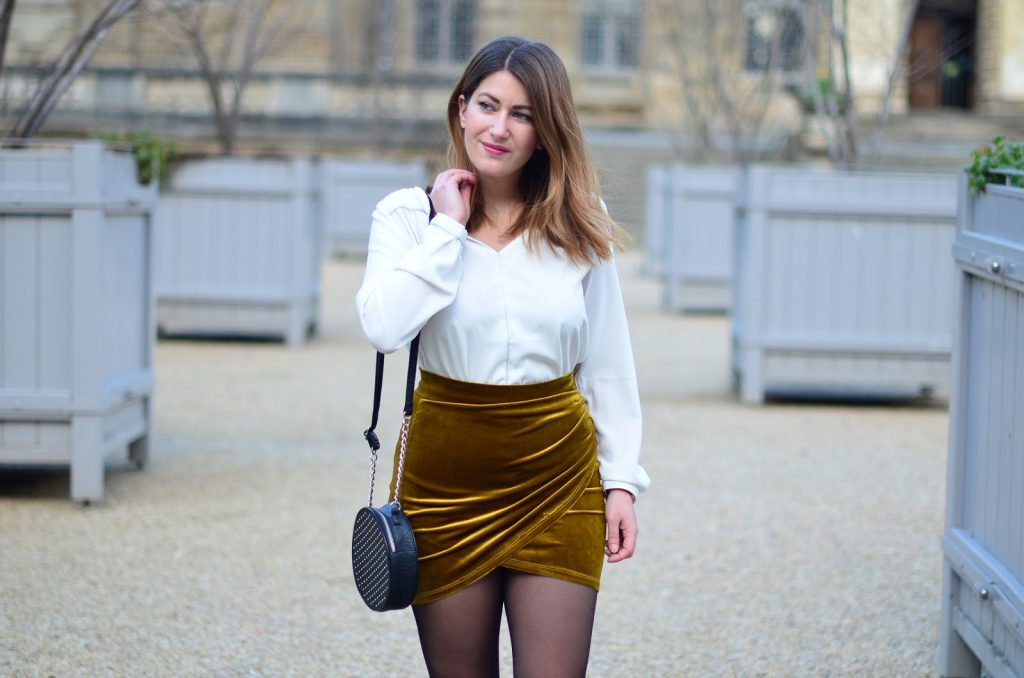 jupe velours pimkie