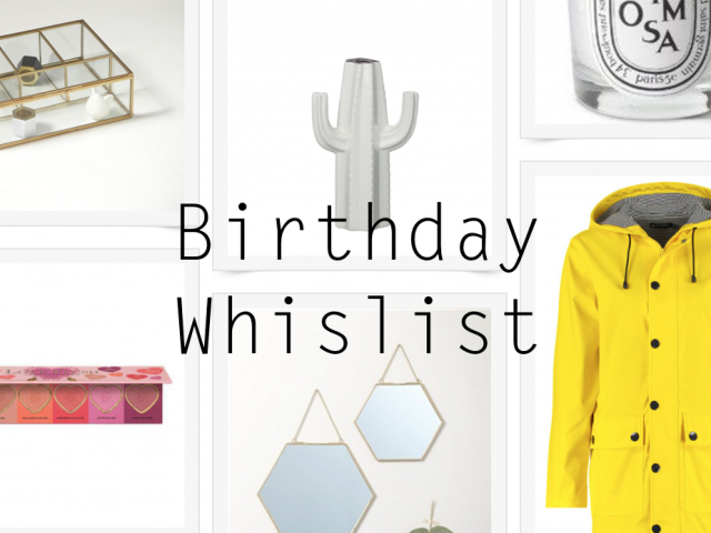 Birthday Wish List !