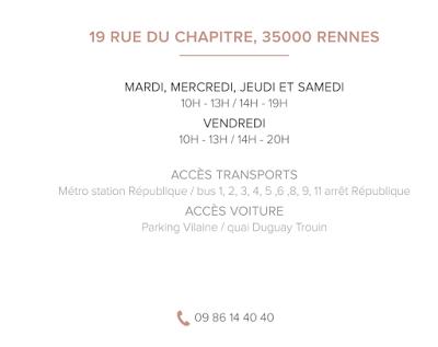 Blush - adresse beauté à Rennes