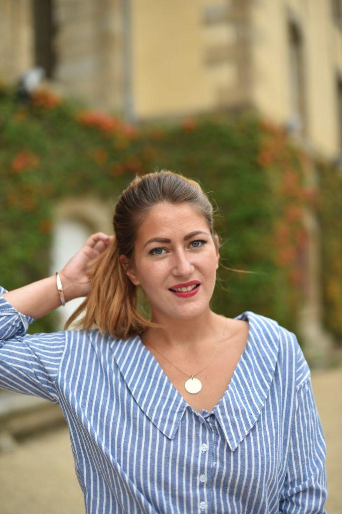 blouse rayures femme