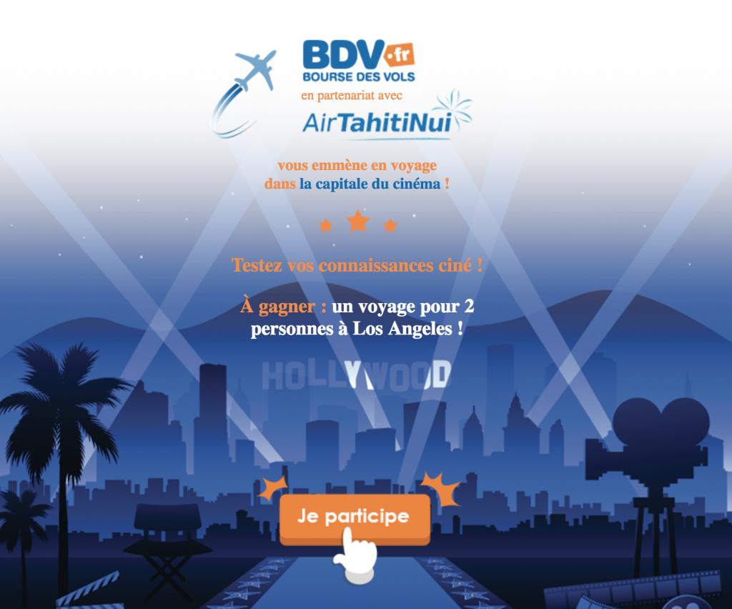 Concours Bourse des Vols: Gagnes un voyage à Los Angeles !!