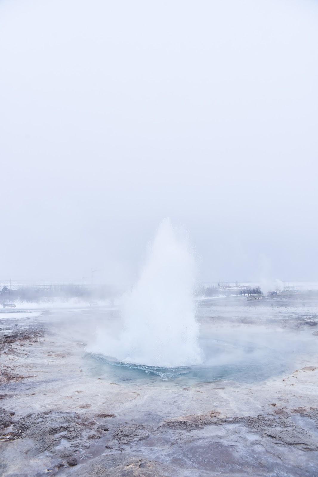 geyser en islande