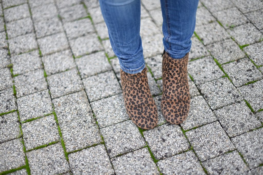 bottines leopard pimkie