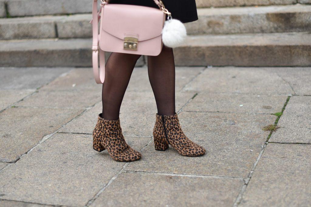bottines leopard sac furla