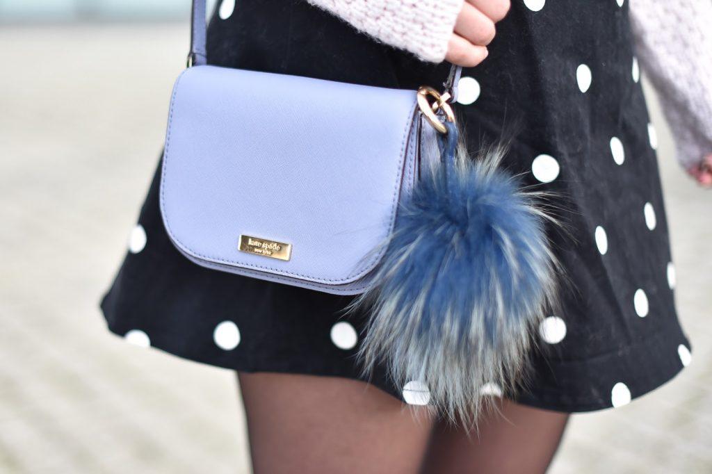 sac kate spade bleu