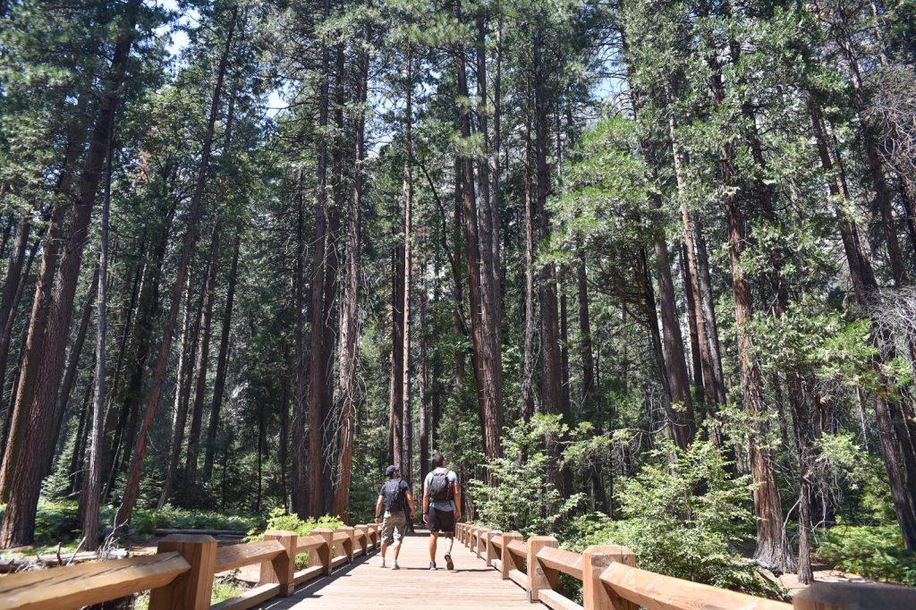 yosemite parc national dans l ouest americain