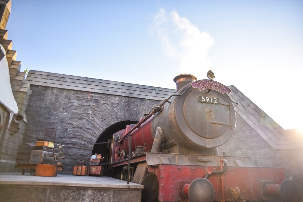 universal studio hollywood harry potter parc