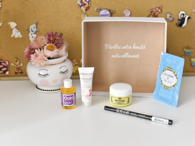 Nuoo Box/ la box beauté bio