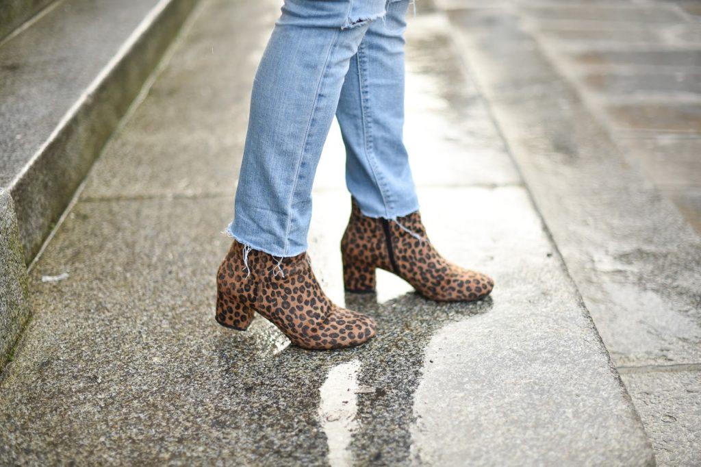 bottines leopard pimkie