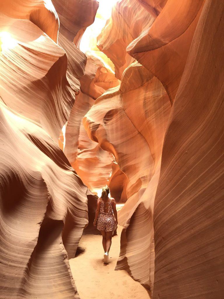 visiter antelope canyon