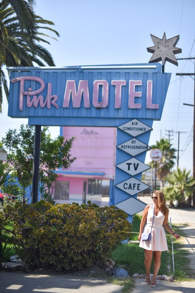 pink motel los angeles