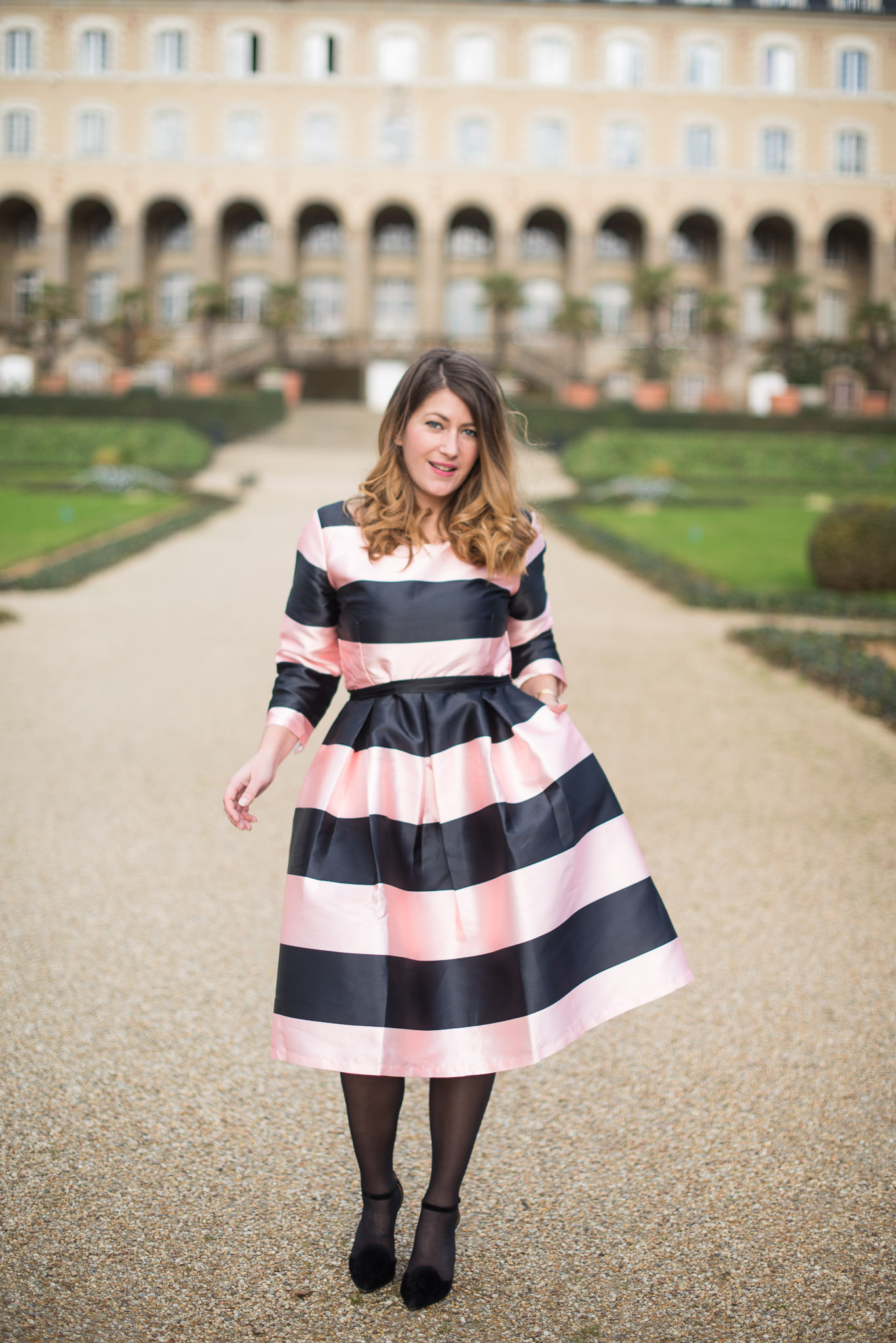 blogueuse mode robe soiree cocktail