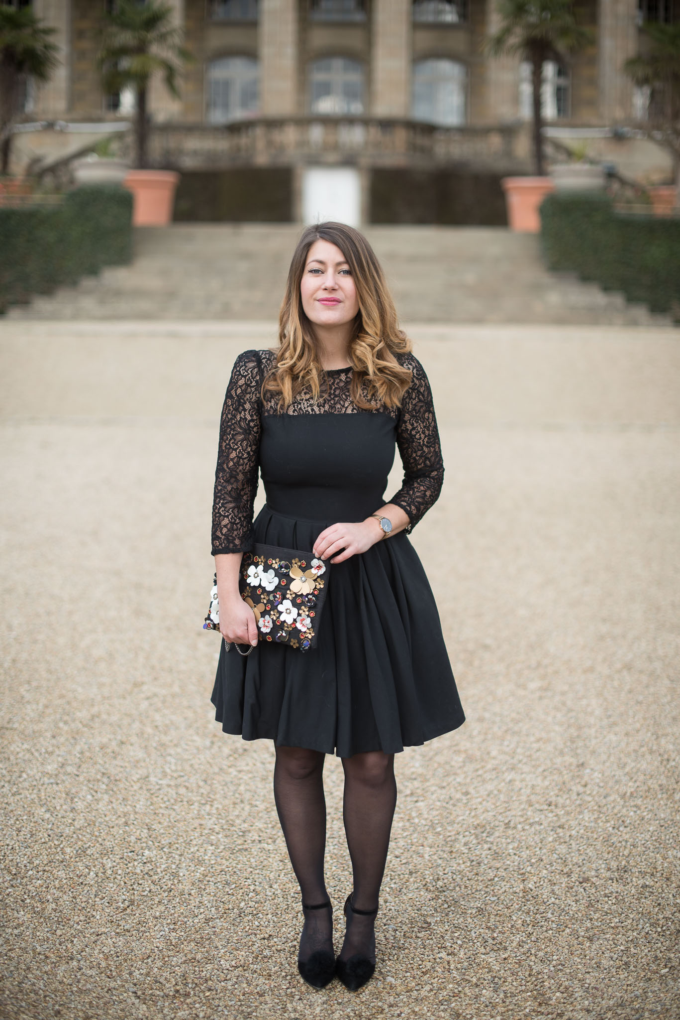 robe soiree mademoiselle r blogueuse