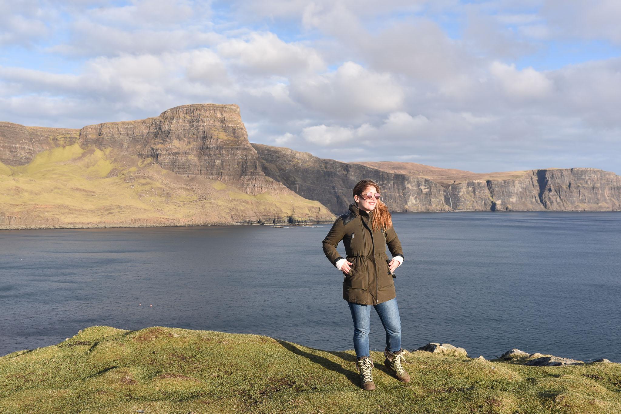 neist point paysage blogueuse voyage