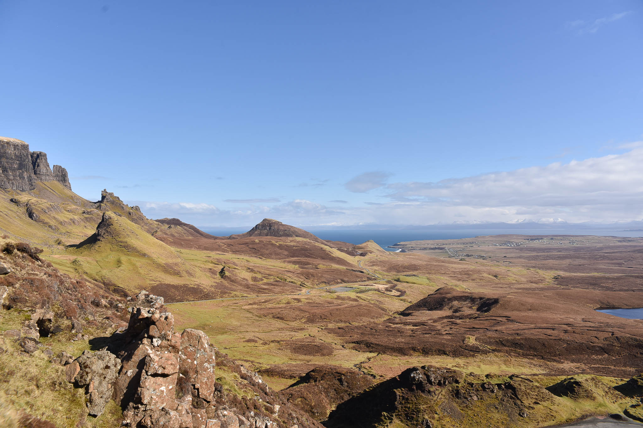 ecosse paysage road trip vacance