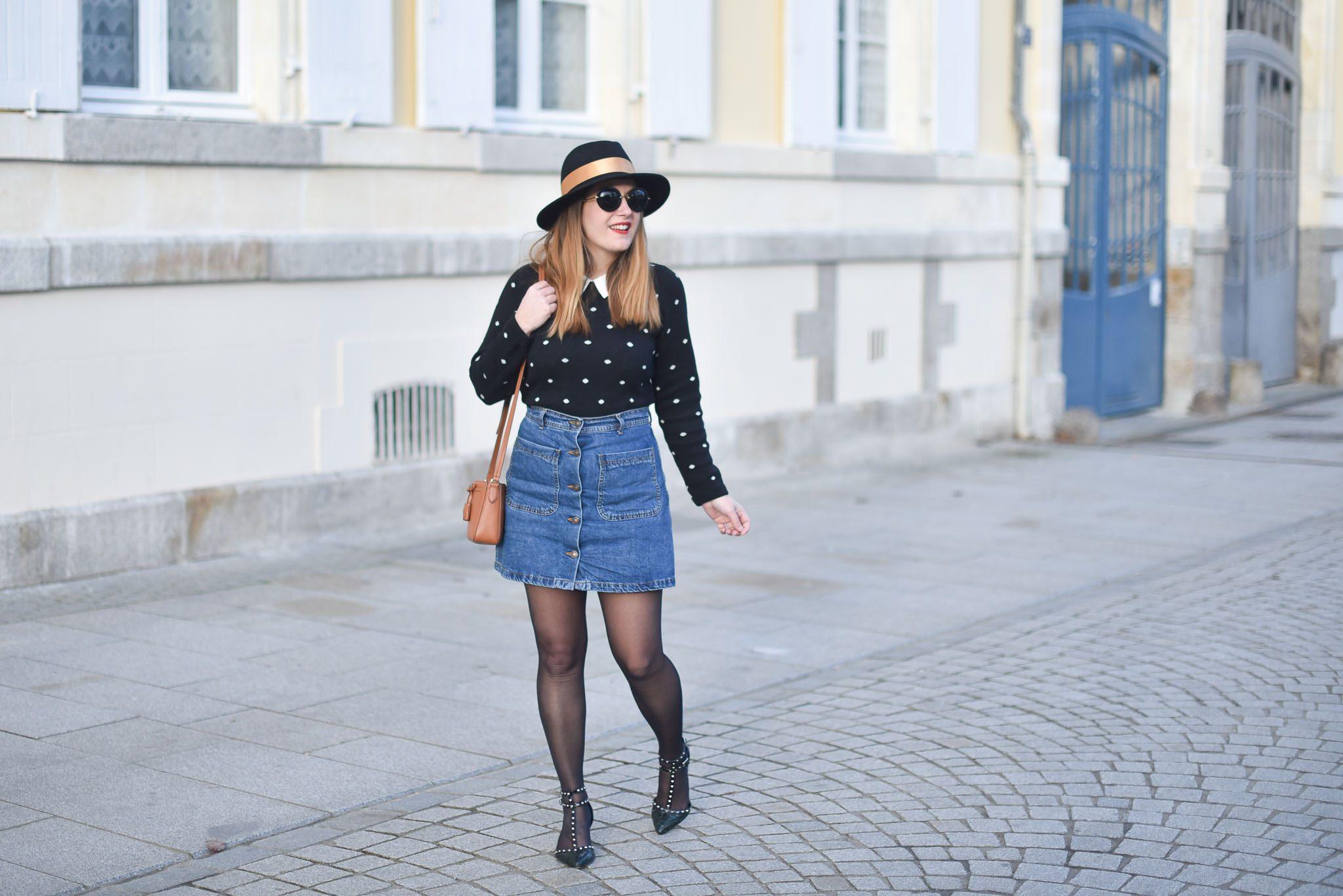 jupe jean femme
