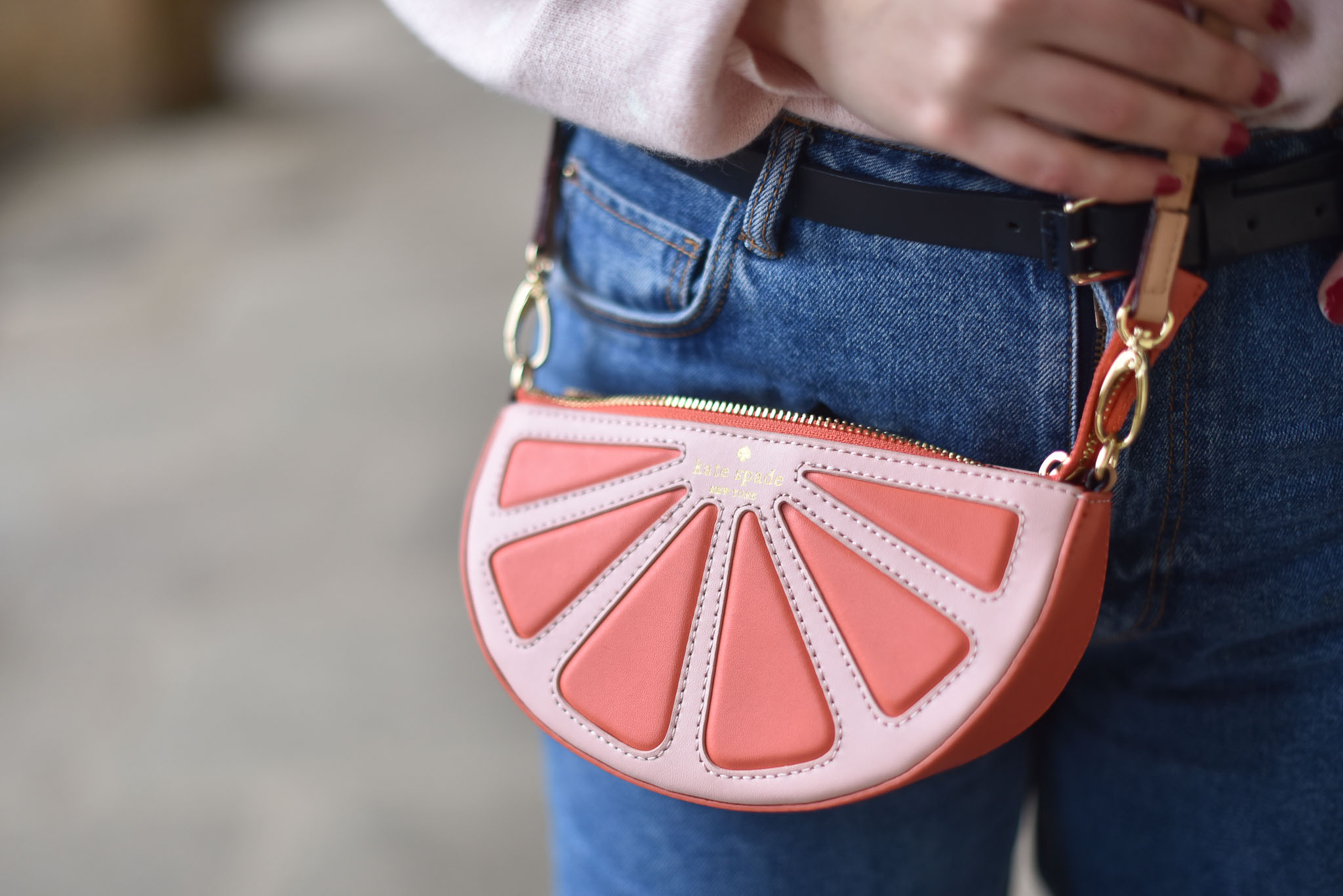 sac kate spade tranche orange