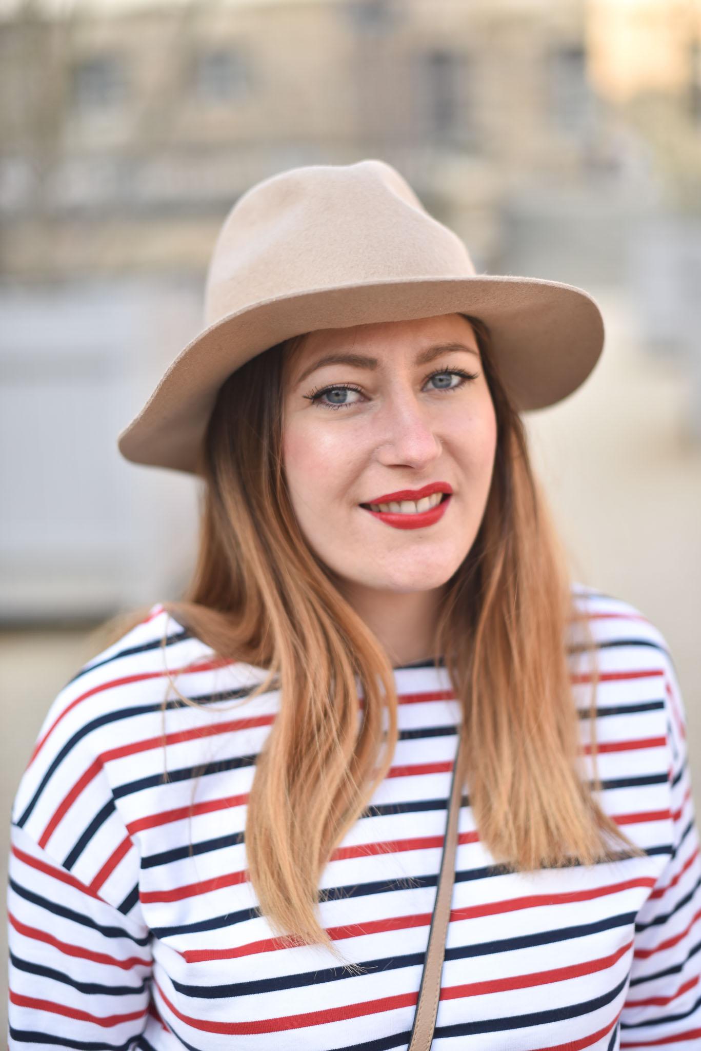 pull femme bizzbee chapeau beige