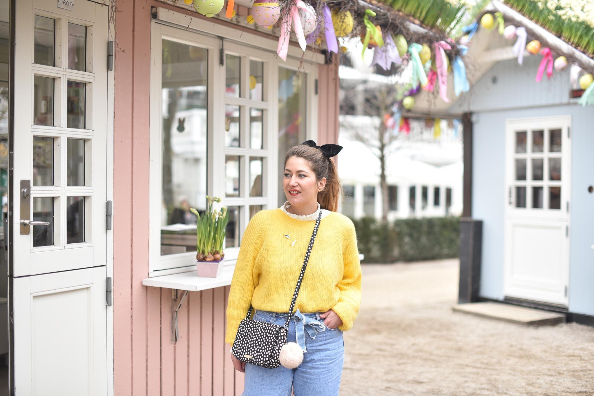 blog rennes pull jaune