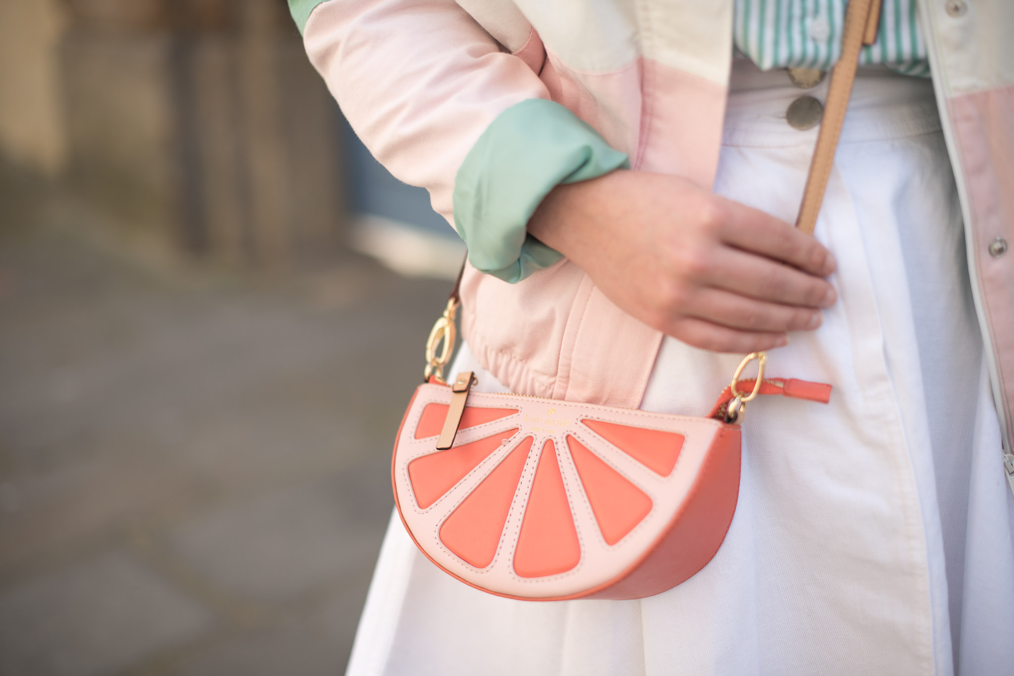 sac kate spade orange