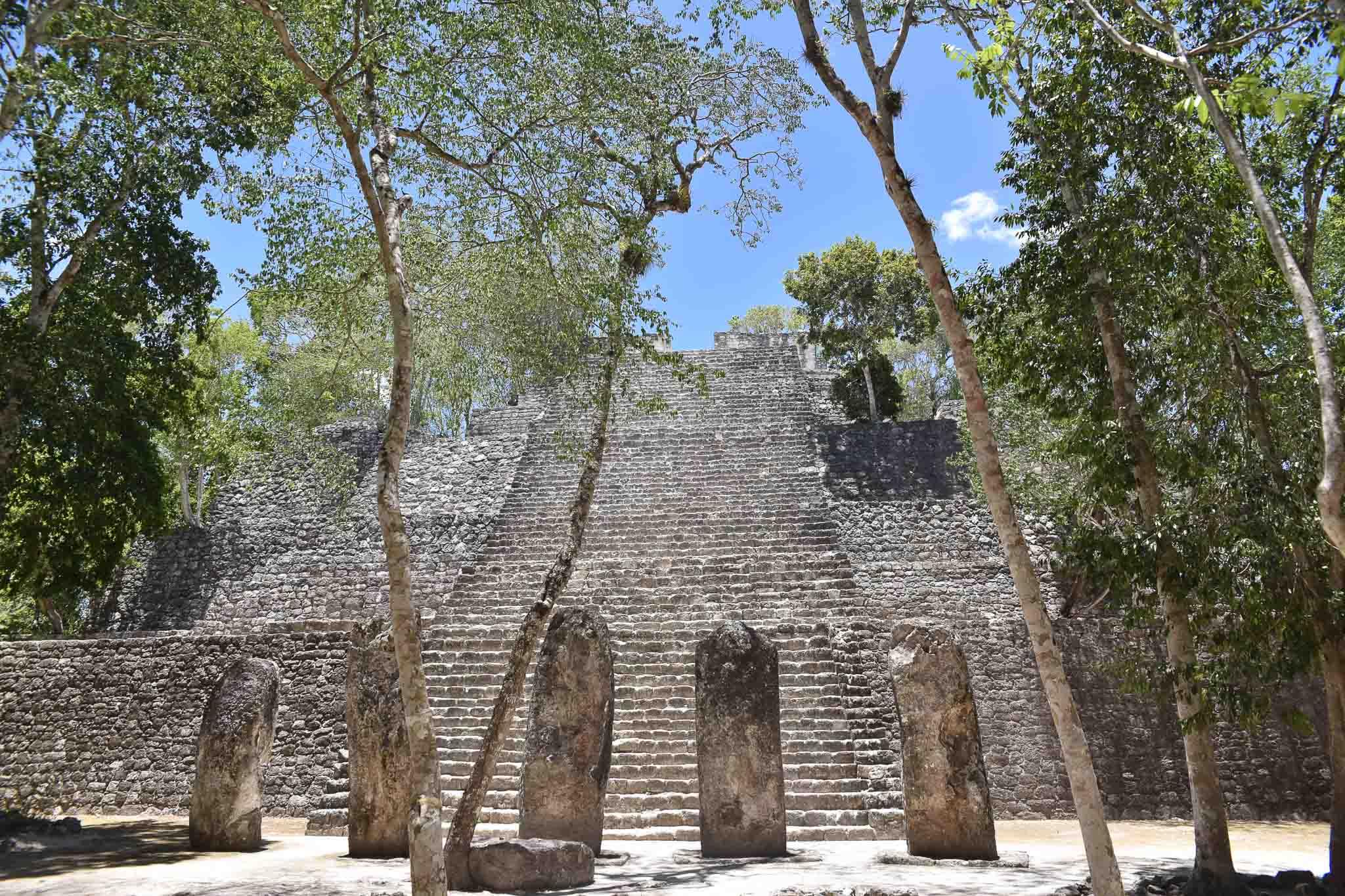 ruines maya calakmul
