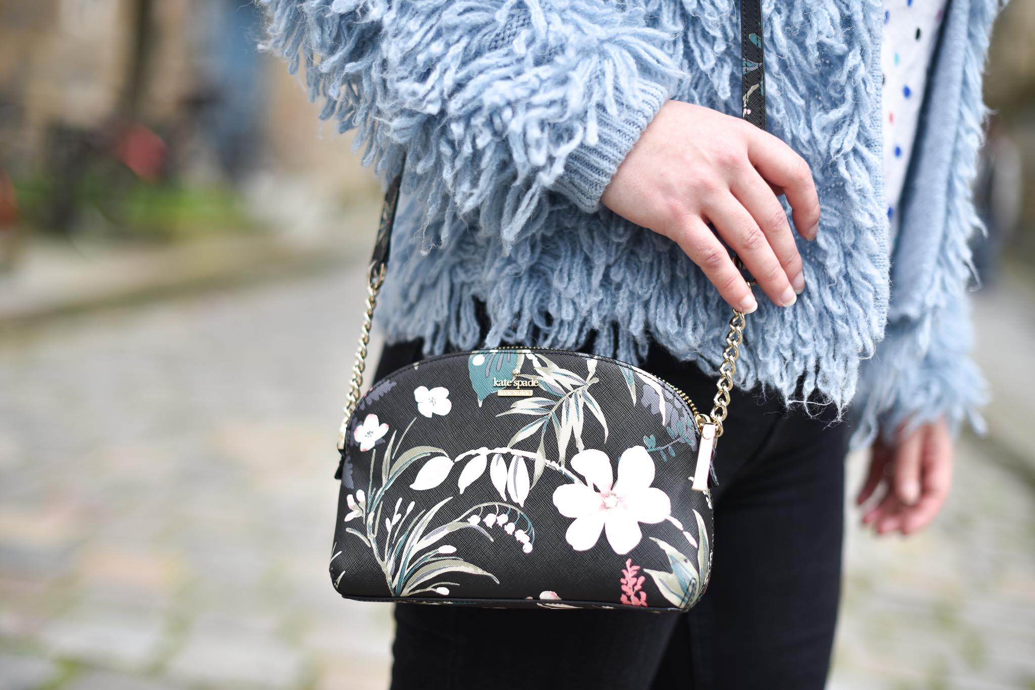 sac kate spade fleurs