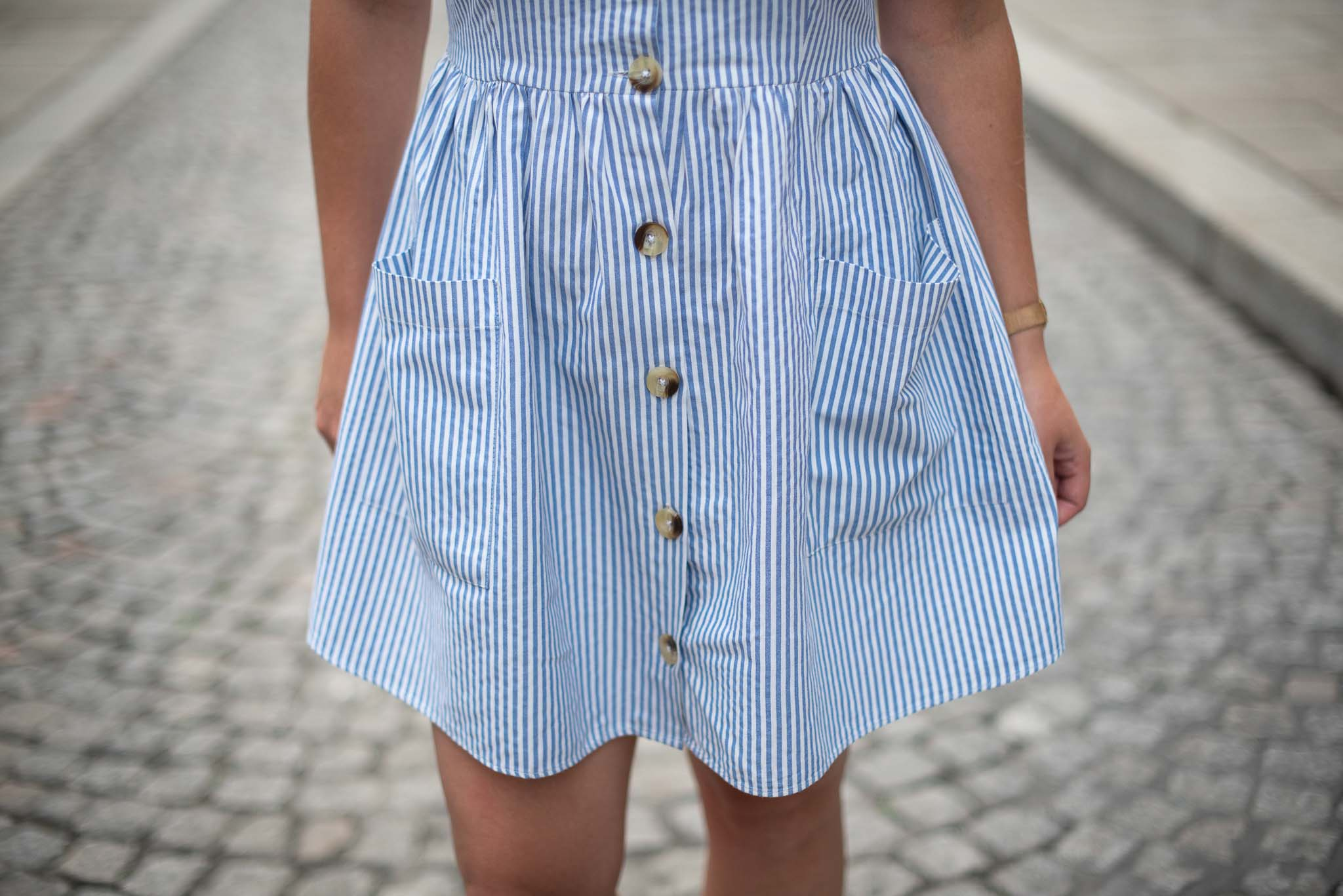 robe été rayures